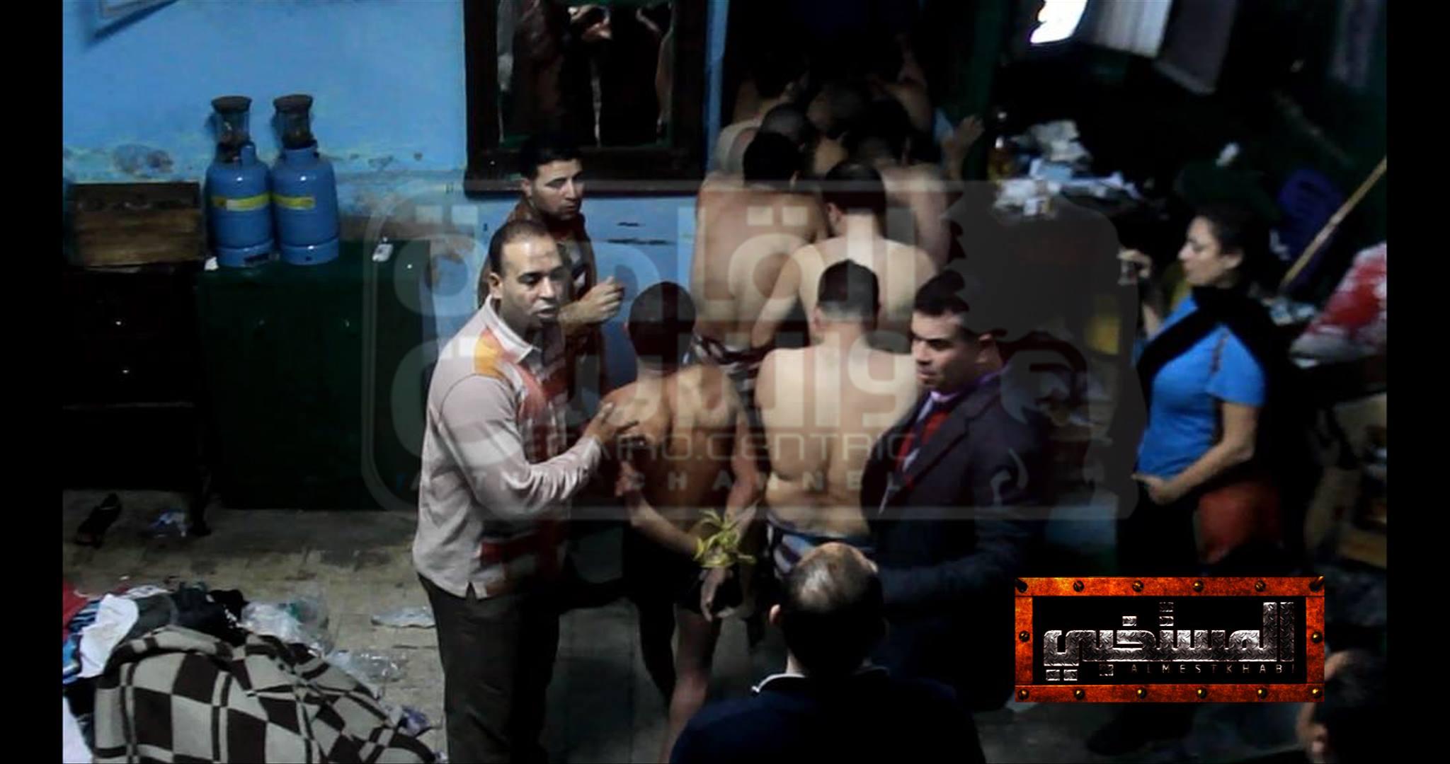 Bath Raid, Cairo December 7, 2014 (Mona Iraqi Facebook photo)