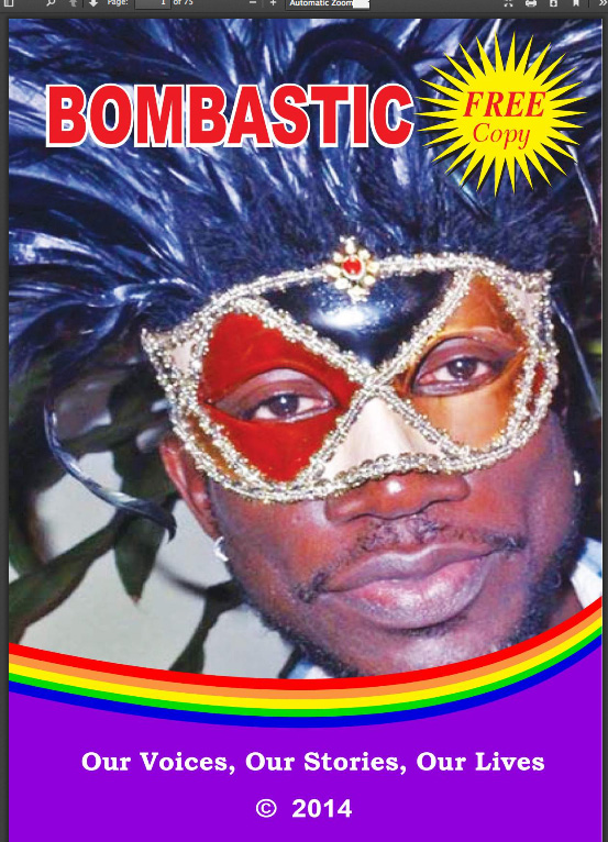The cover of Bombastic's first issue.