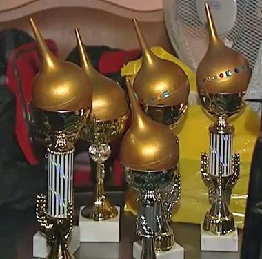 Golden Enema Awards 2014 (Photo courtesy of the Regional Press Institute of St. Petersburg)