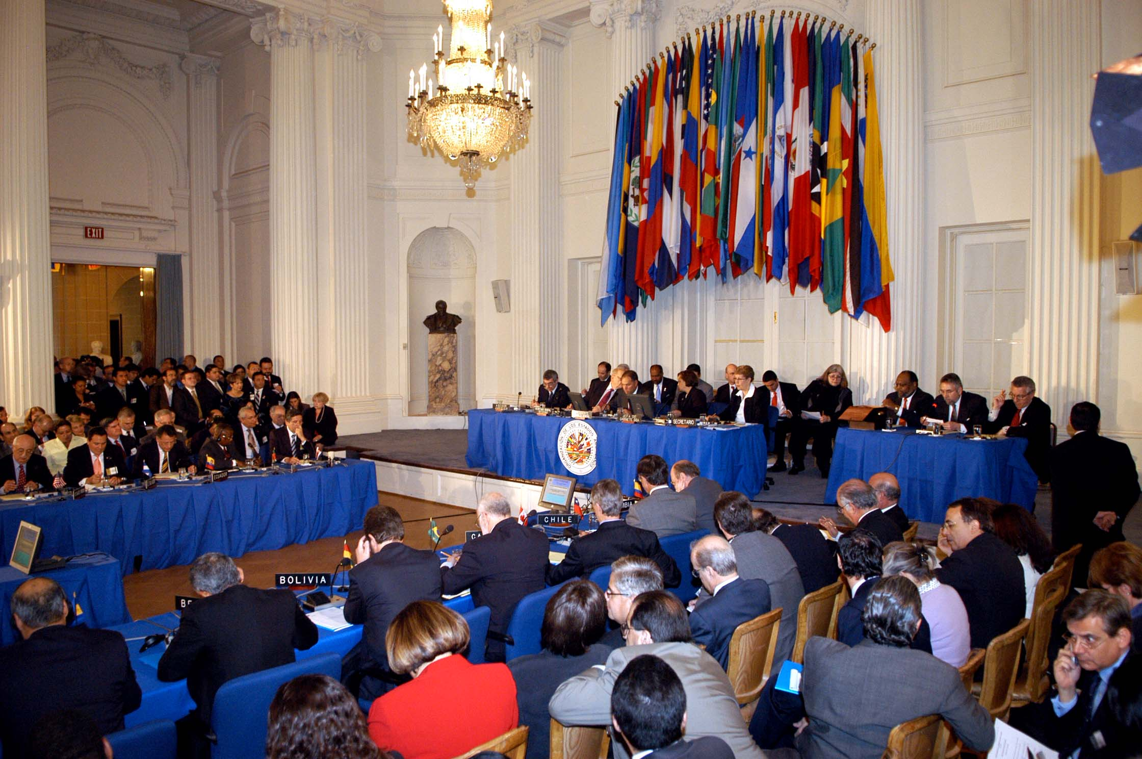 OAS general assembly (Photo courtesy Wikipedia)