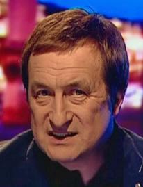TV journalist Valery Tatarov, co-winner of the George Orwell Ministry of Truth Award. (Photo courtesy of sptimes.ru)