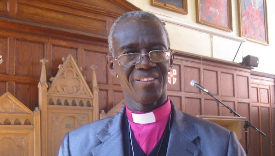 Archbishop Eliud Wabukala of the Anglican Church of Kenya is the chairman of anti-gay GAFCON. (Photo courtesy of WestFM.co.ke)