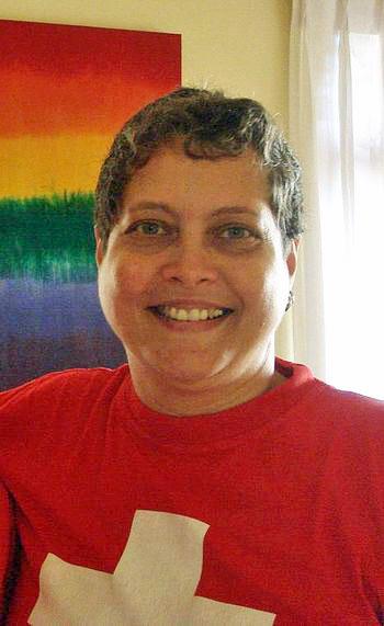 Rosanna Flamer-Caldera, executive director of Equal Ground, Sri Lanka (Photo credit: Wikipedia)
