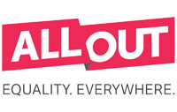 Logo of AllOut.org. (Click the image to visit the website.)