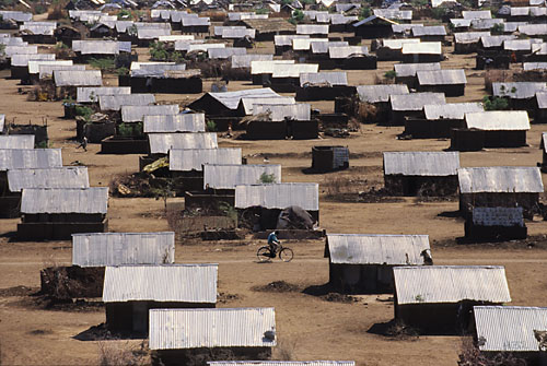Kakuma refugee camp in Kenya, where most Ugandan refugees are held (Photo courtesy of Ephemerian)