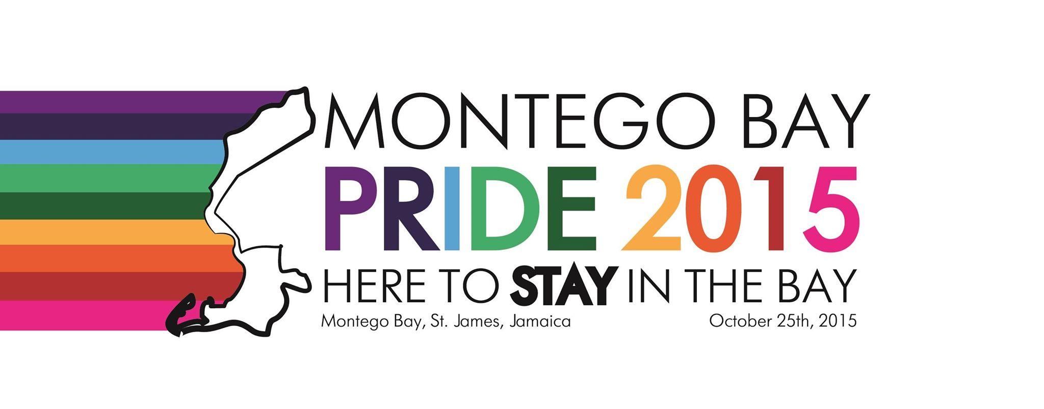 Banner promoting Montego Bay Pride 2015.