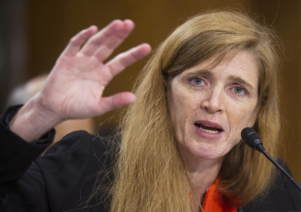 Samantha Power, U.S. ambassador to the U.N. (Photo courtesy of The Nation)