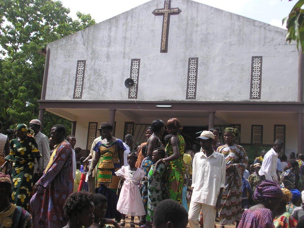 Roman Catholic church in Pagouda, Togo (Photo courtesy of Panoramio.com)