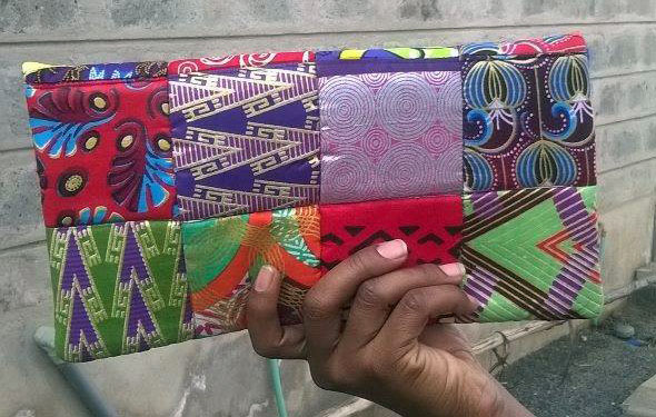 Clutch purse made by His Grace Fashion and Design.