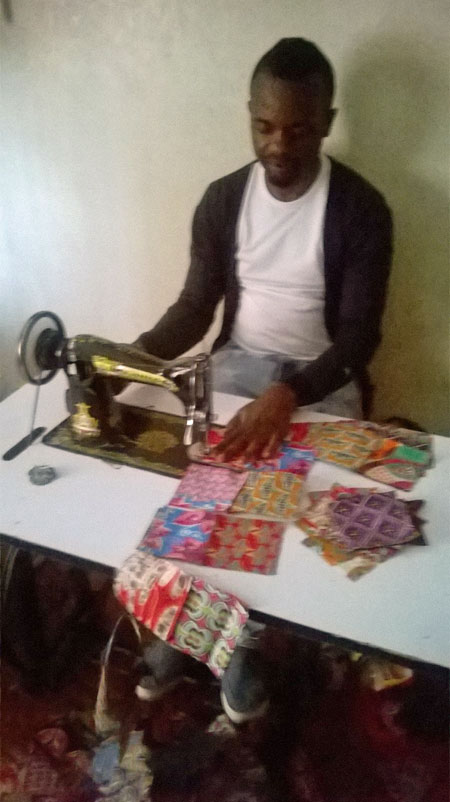 Products from His Grace Fashion and Design are made by hand.