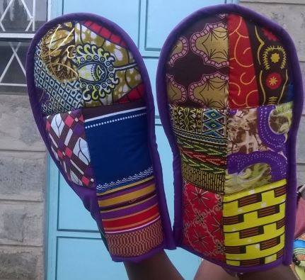 Oven mitts made by His Grace Fashion and Design
