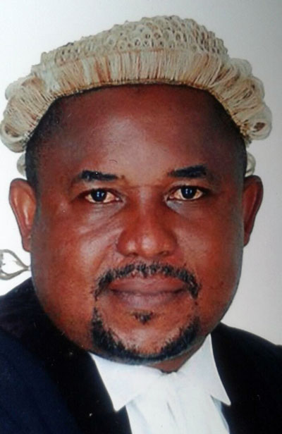 Barrister Walter Atoh (Barrister Atoh Walter M. Tchemi, as his name is written in Cameroon)