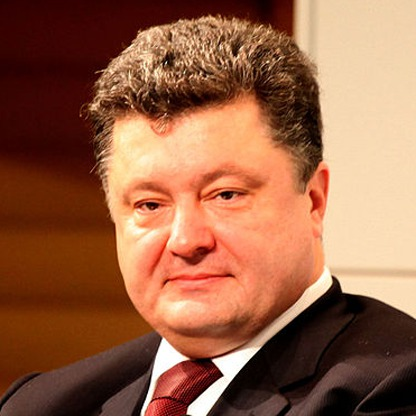 Petro Poroshenko, president of Ukraine (Photo courtesy of dvdmnnx.wordpress.com)