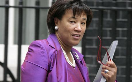 Baroness Scotland (Photo courtesy of The Telegraph)
