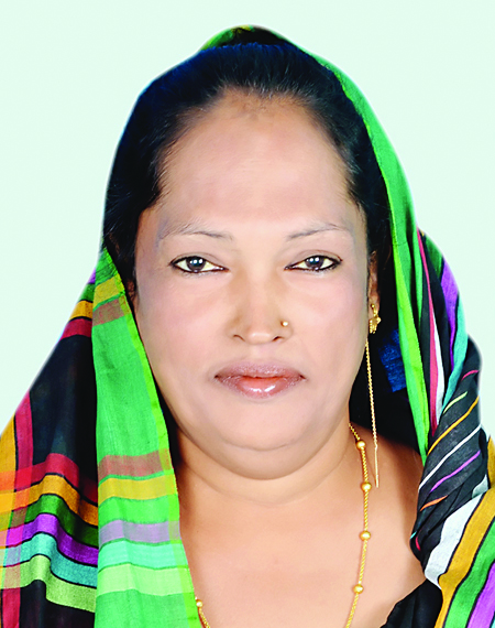 Dithi is the first member of the hijra third-gender community to run for public office in Bangladesh. (Photo courtesy of the Dhaka Tribune)