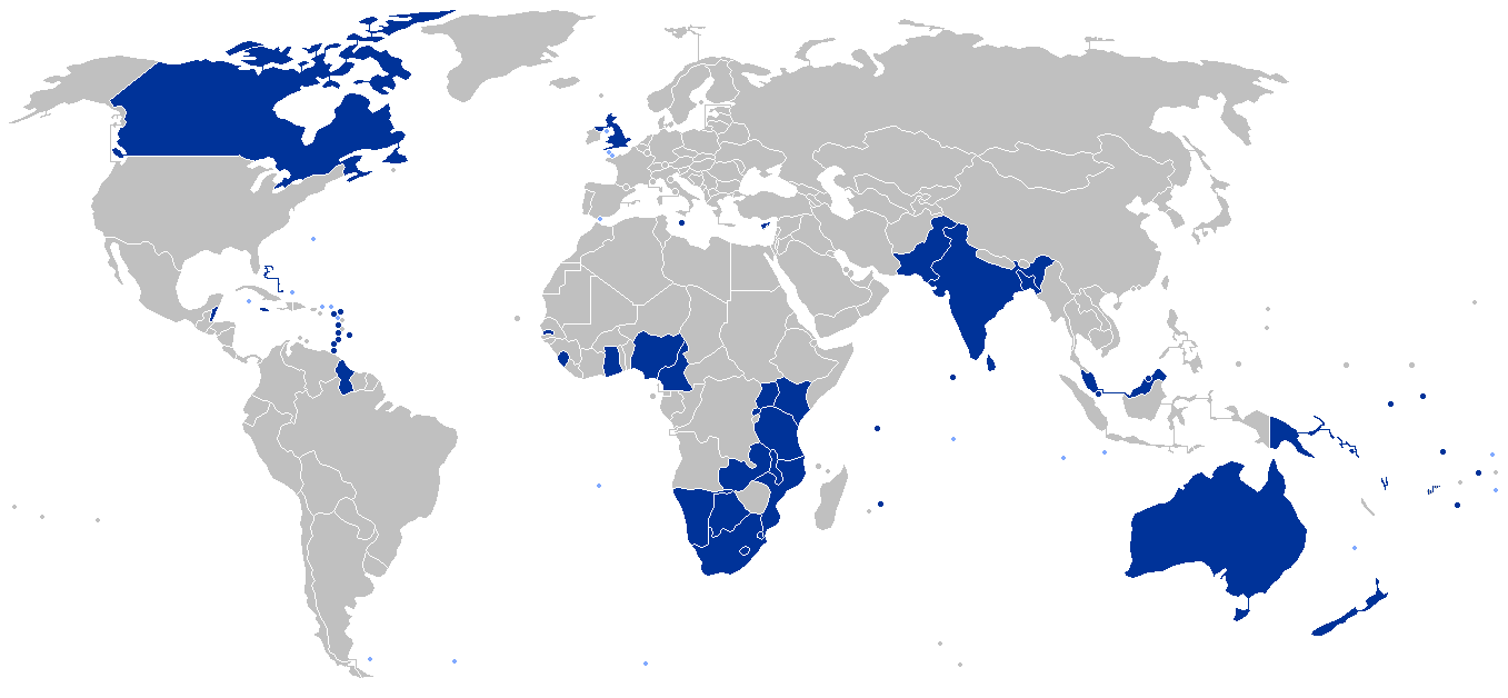 Map shows members of the Commonwealth of Nations, including those with anti-homosexuality laws and those that have repealed them. (Map courtesy of Wikipedia)