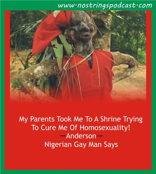 "Click the image to listen to the podcast ""My Parents Took Me To A Shrine Trying To Cure Me Of Homosexuality"""