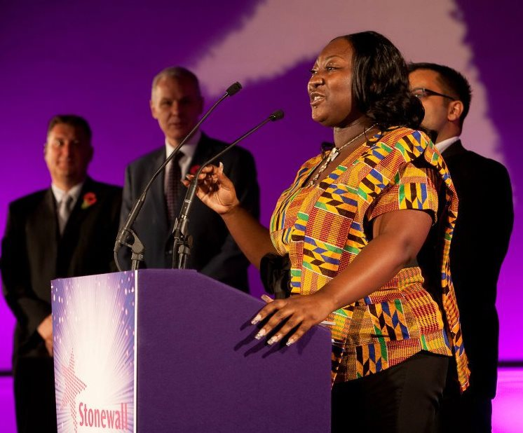 Phyll Opoku-Gyimah (Photo courtesy of UKblackpride.org.uk)