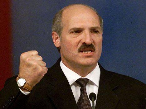 Belarussian President Alexander Lukashenko (Vasily Fedosenko photo courtesy of Daily Mail)