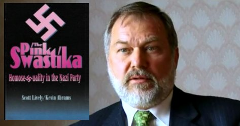 """Scott Lively is an author of """"'The Pink Swastika: Homosexuality in the Nazi Party,"""" which promotes the discredited view that homosexuals were to blame for many of evils of Nazi Germany. (Photo courtesy of GodDiscussion.com)"""