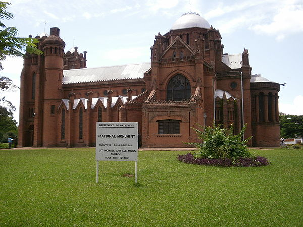 St. Michael and All Angels is a CCAP church in Blantyre, Malawi. (Photo courtesy of Wikipedia)