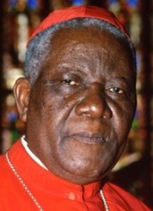 "Cardinal Christian Tumi, retired archbishop of Douala: Homosexuality is ""a threat to the human race."" (Photo courtesy of LeffortCamerounais.com)"