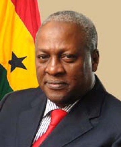 Ghana President John Dramani Mahama (Photo courtesy of Vibe Ghana)