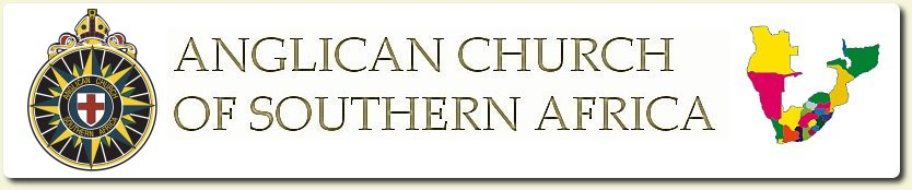 Logo and map of the Anglican Church of Southern Africa