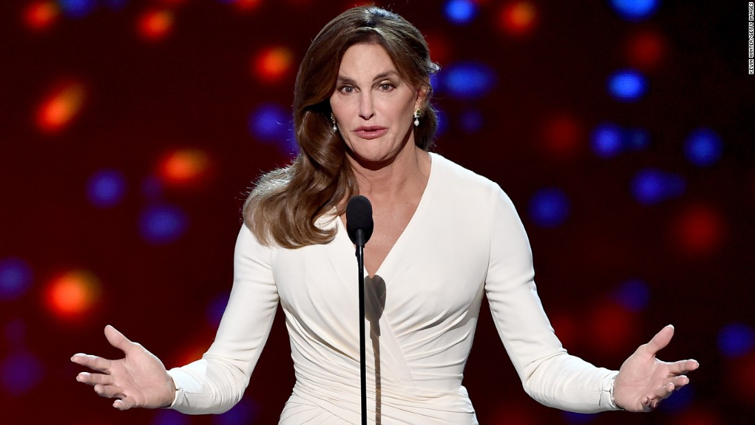 Caitlyn Jenner, formerly Bruce Jenner (Photo courtesy of CNN)