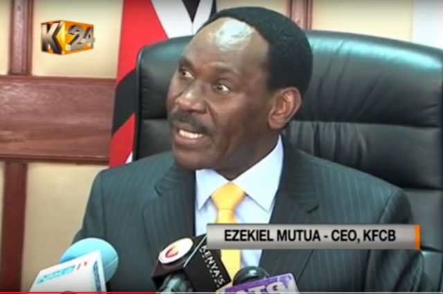 """Kenya Film Classification Board """"bans"""" the video """"Same Love."""" (Click the image to view coverage of the KFCB announcement.)"""