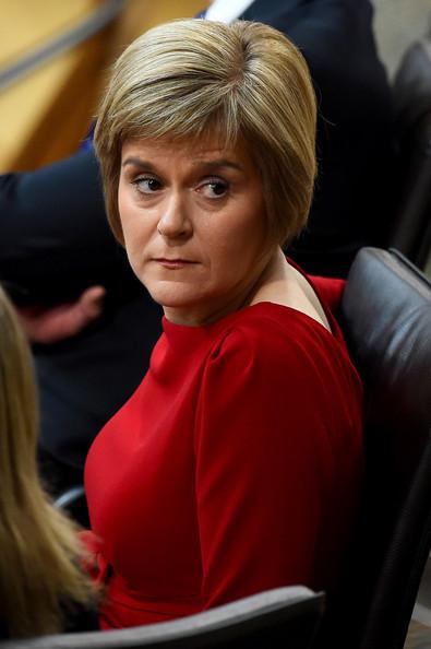 Scotland's First Minister Nicola Sturgeon (Photo courtesy of Zimbio)