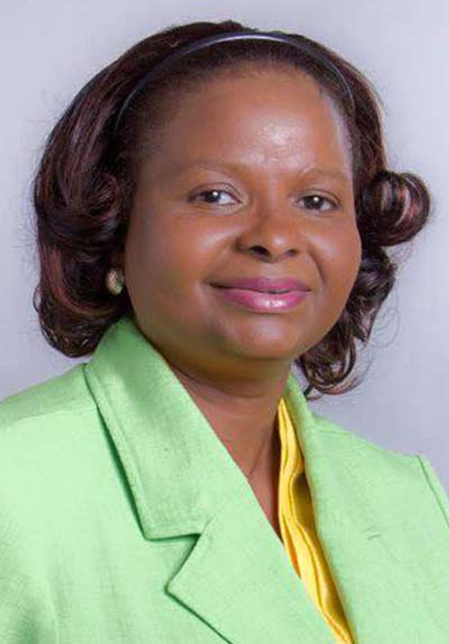 Volda Lawrence, Guyana's Minister of Social Protection (Photo courtesy of KaieteurNewsOnline.com)