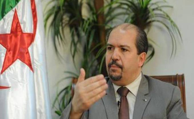 Mohamed Aissa, Algeria's minister of religious affairs: Combatting homosexuality is more important than combatting ISIS. (Photo courtesy of Kabylie-News.com)