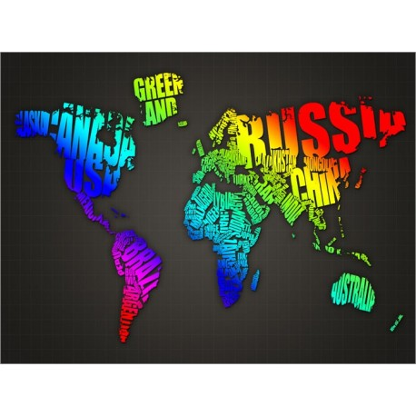 Text version of world map (Graphic courtesy of IDAHOT)