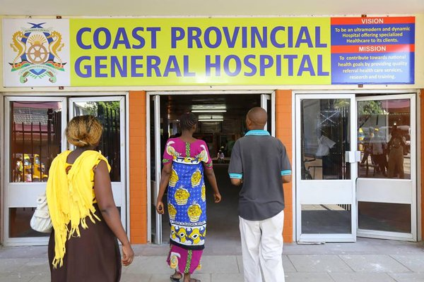 Coast Provincial General Hospital (Photo courtesy of Twitter)