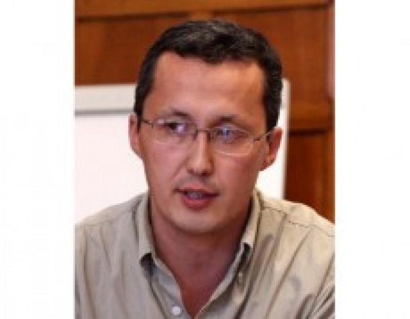Medet Tiulegenov (Photo courtesy of the Medet Tiu American University of Central Asia)