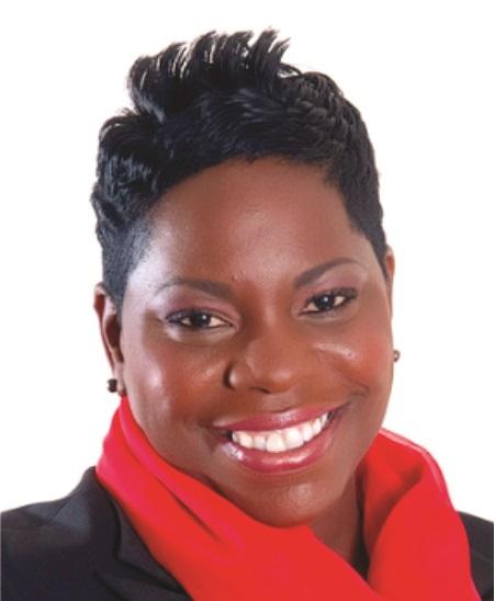 Samantha Marshall, Antigua's minister of social transformation (Photo courtesy of CaribbeanElections.com)