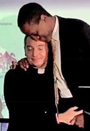Maurice Tomlinson and his husband, Tom Decker (Photo courtesy of AbominableCrimeFilm.com)