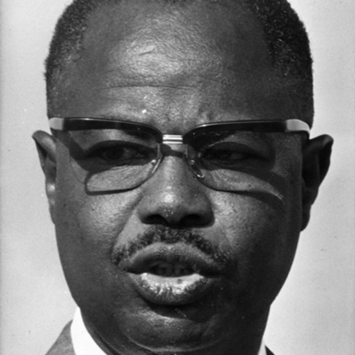Former Cameroonian President Ahmadou Babatoura Ahidjo (Photo courtesy of Biography.com)