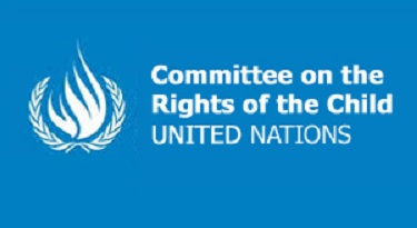 Logo of the Committee on the Rights of the Child