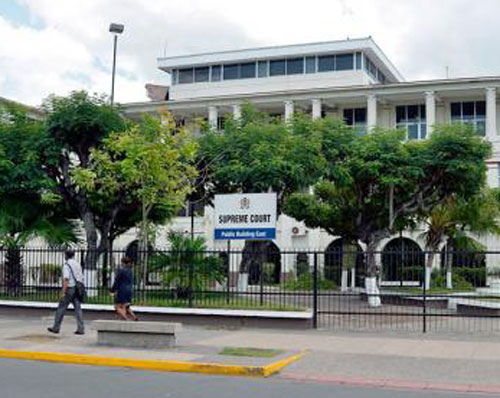 Jamaica Supreme Court. (Photo courtesy of the Jamaica Gleaner)