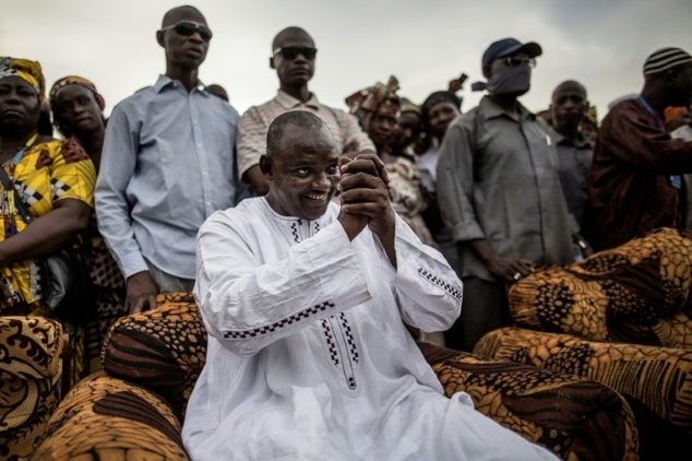 President-elect Adama Barrow of the Gambia (Photo courtesy of the Daily Mail)