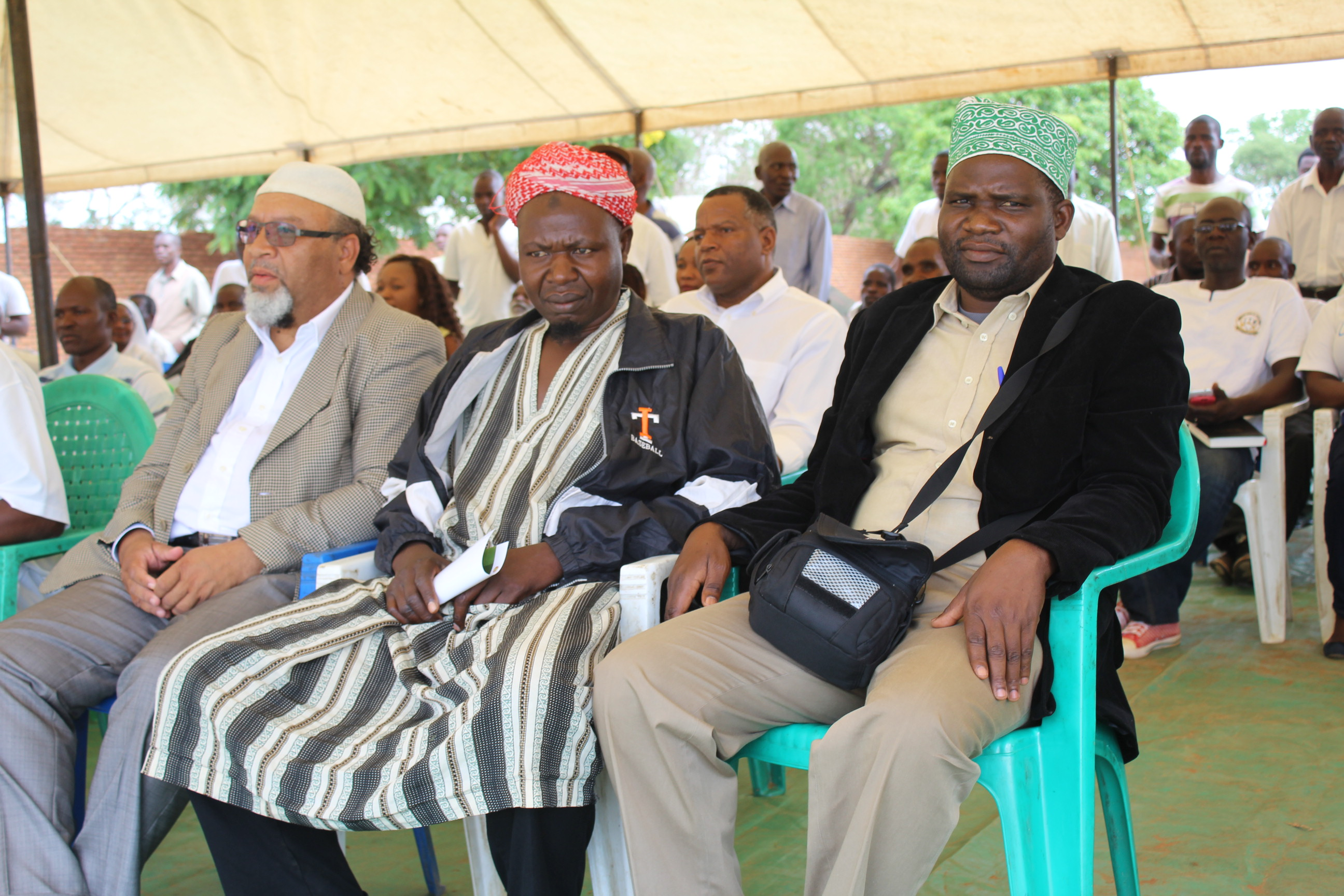 Muslim leaders supported Malawi's Dec. 6 march against abortion and same-sex marriage. (Photo courtesy of ECM)