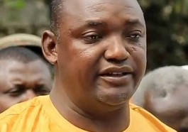 Gambian President Adama Barrow (Photo courtesy of MambaOnline)