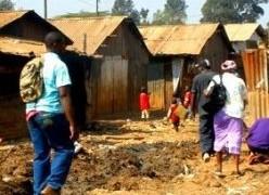 Kawangware slum near Nairobi (Photo courtesy of Tim and Jenni's Journey)