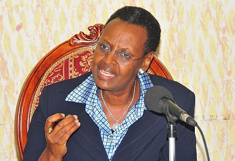 Janet Museveni, Uganda's minister of education and first lady. (Photo courtesy of Campus Times Uganda)