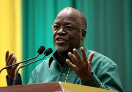 Tanzanian President John Magufuli (Photo courtesy of CGTN Africa)