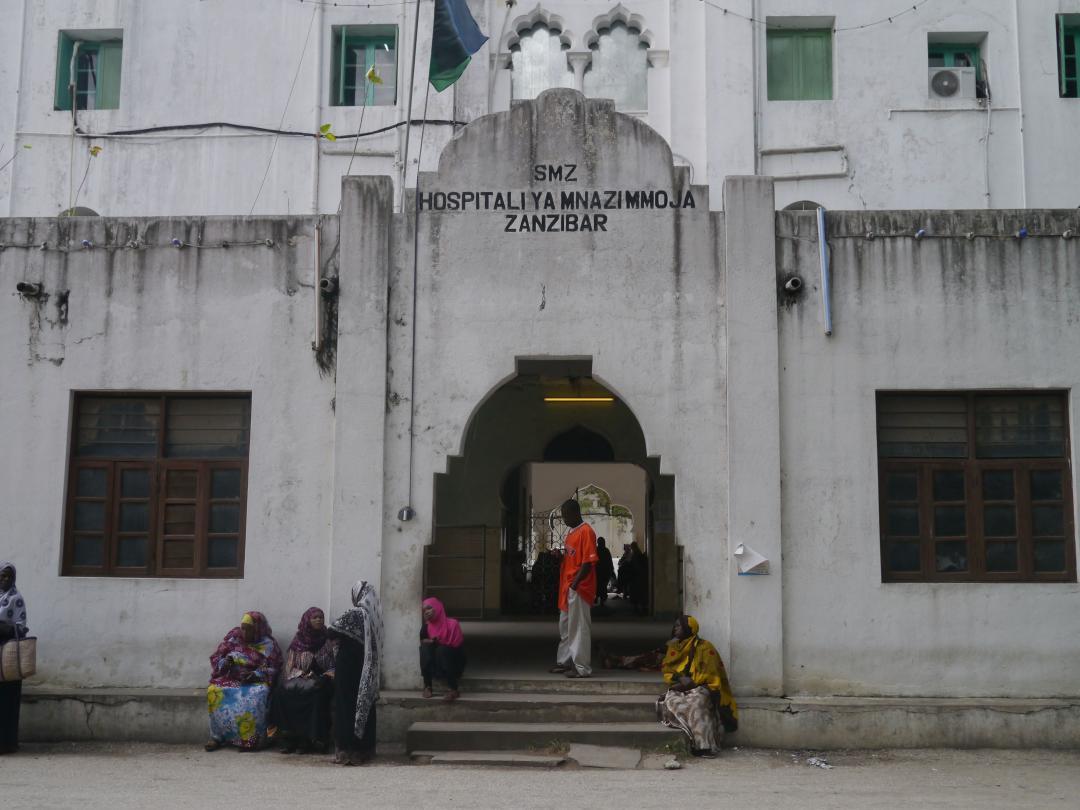 Mnazi Mmoja Hospital in Zanzibar (Photo courtesy of SwearersParks.org)