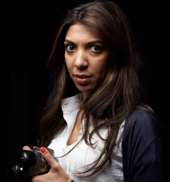 Nazeeha Saeed (Photo courtesy of OutRight Action International)