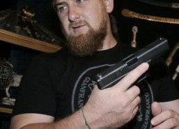 """Under the regime of Chechen President Ramzan Kadyrov, Chechen forces arrested and incarcerated about 100 allegedly gay citizens in 2017. Kadyrov denies that the persecution occurred, taking the absurd position that """"such people do not exist."""" (Photo courtesy of ABC News)"""